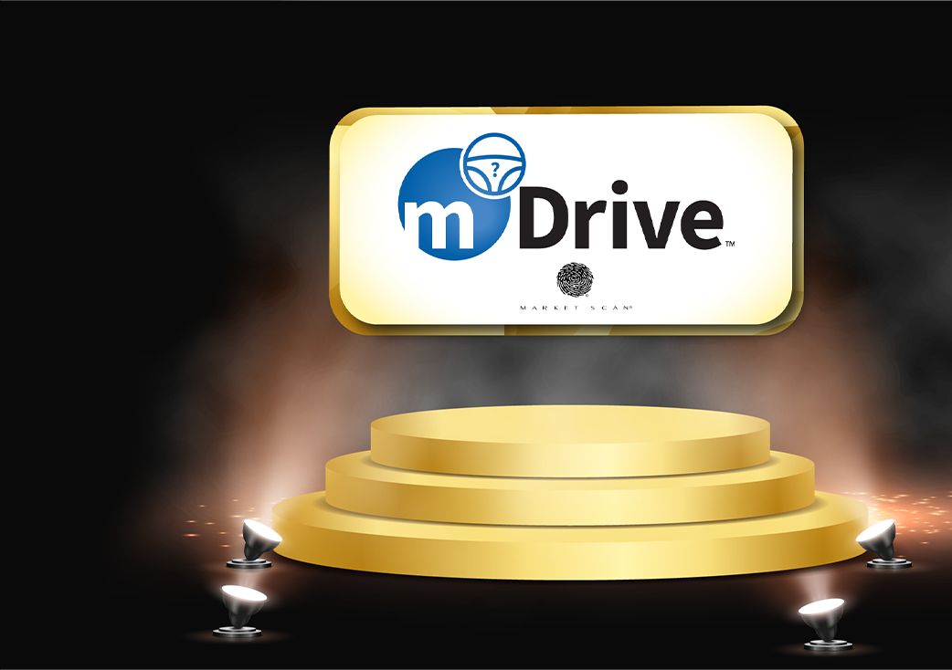 mDrive Gold Podium